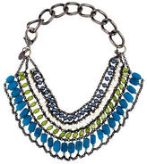 Erickson Beamon Bead Multirow Collar Necklace