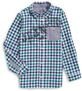 Guess Gingham Sport Shirt