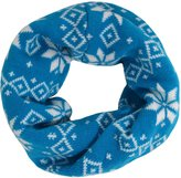 Simplicity Snowflake Kid's Winter Infinity Scarf Neck Warmer in Knitted
