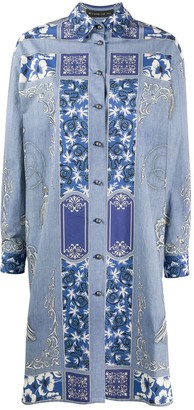 Etro Tassel Print Shirt Dress