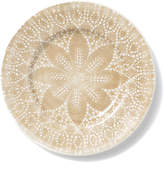 Vietri Lace Natural Dinner Plate
