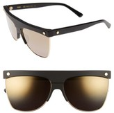 MCM Women's 60Mm Aviator Sunglasses - Black