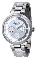 Kenneth Cole New York Women's KC4916 Transparency White Mother of Pearl Dial Transparency Watch