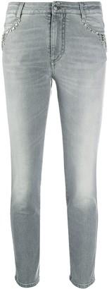 Ermanno Scervino Mid-Rise Skinny Jeans