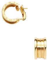 Bulgari Vintage B.Zero 18K Yellow Gold Earrings