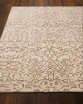 "Etched Geometric Runner, 2'6"" x 10'"