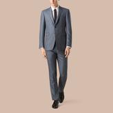 Burberry Modern Fit Wool Silk Linen Half-canvas Suit