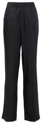 Helmut Lang Gathered Twill Straight-leg Pants
