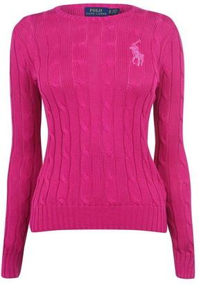 Polo Ralph Lauren Sequin Logo Knit Sweater