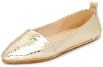 Yosi Samra Women's Vannah Pointed Toe Flat