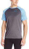 Spalding Men's Short-Sleeve Loose-Fit Raglan Performance Top