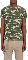 Barneys New York Men's Camouflage Cotton T-Shirt