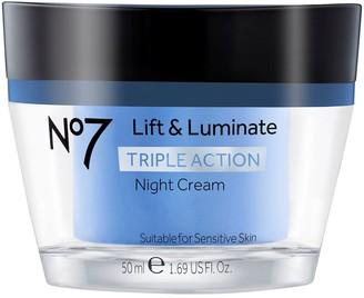 No7 Lift & Luminate Triple Action Night Cream