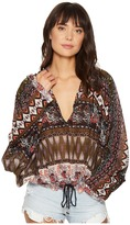 Free People Hold On Tight Gauze Pullover Women's Clothing