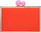 Carvela Gladly suedette clutch bag