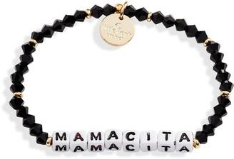 Little Words Project Mamacita Beaded Stretch Bracelet