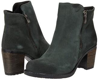 Eric Michael Allegra (Black Suede) Women's Boots