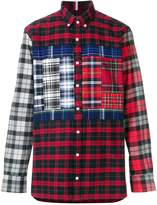 Tommy Hilfiger classic patchwork shirt