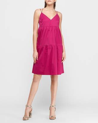 Express Tiered Midi Dress