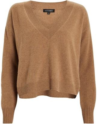 Intermix Elroy V-Neck Cashmere Sweater