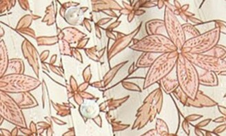 Love Stitch Off-the-Shoulder Printed Dress