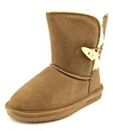 BearPaw Abigail Toddler Round Toe Suede Winter Boot.