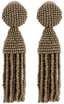 Oscar de la Renta Short Tassel C Earrings