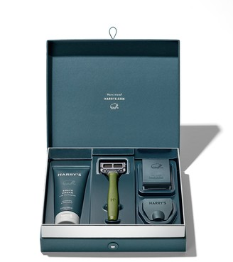 Harry's Harrys Truman Set with Shave Cream in Olive
