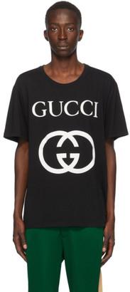 Gucci Black Interlocking G T-Shirt
