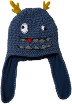 Barts Blue Knitted Toto Inka Monster Hat