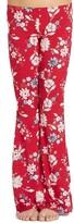 Billabong Girl's Floral Print Flare Pants