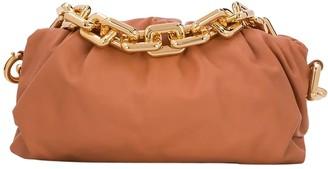 Bottega Veneta Chain Strap Pouch Clay-gold
