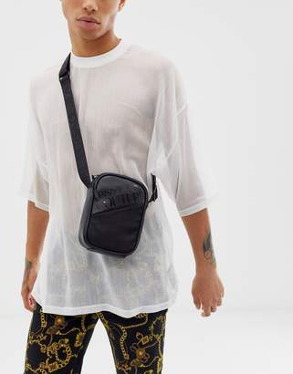 Versace cross body bag in black