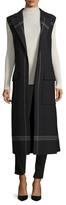 Jil Sander Wool Striped Vest