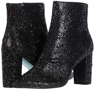 Blue by Betsey Johnson Cady Dress Bootie (Rhinestone) Women's Boots