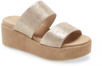 J/Slides Quincy Wedge Platform Sandal