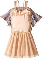 Stella McCartney Bonny Dress w/ Tulle Skirt & Butterfly Wings (Toddler/Little Kids/Big Kids)