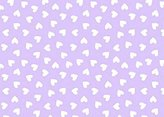 Stokke SheetWorld Fitted Oval Mini) - Hearts Pastel Lavender Woven - Made In USA - 58.4 cm x 73.7 cm ( 23 inches x 29 inches)