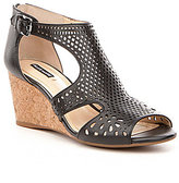 Alex Marie Maxyne Cork Wedge Sandals
