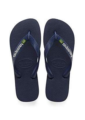 Havaianas Men's Brazil Logo Flip Flop Sandal M US