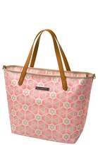 Petunia Pickle Bottom Infant Girl's 'Downtown' Glazed Canvas Tote - Pink
