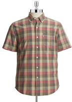Levi's Classic One Pocket Shirt Beige Plaid