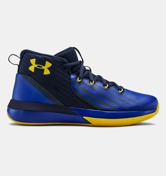 Under Armour Boys' Grade School UA Lockdown 3 Basketball Shoes