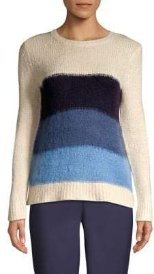 Vince Camuto Textured Colorblock Sweater