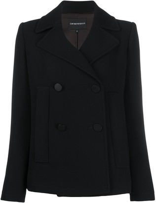 Emporio Armani Short Double Breasted Jacket