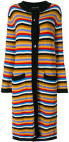 Etro long striped cardigan