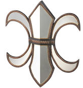 Asstd National Brand Fleur De Lis Wall Mirror