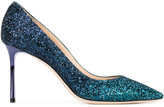 Jimmy Choo glitter 'Romy 85' pumps