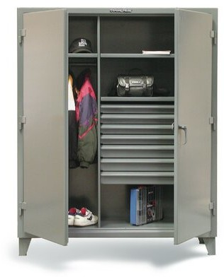"""Strong Hold Products 66""""H x 48""""W x 24""""D 2 Door Storage Cabinet Strong Hold Products"""