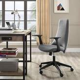 Modway Fount Task Chair Upholstery Color: Gray